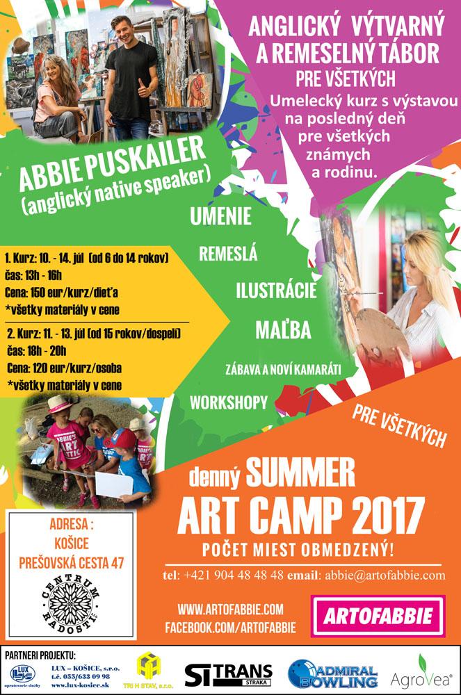 denný summer art camp 2017